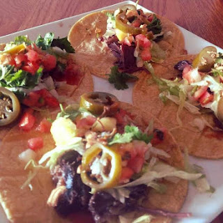 My Korean Short Rib/Mexican Fusion Taco's.