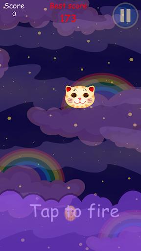 可爱的猫--月饼射击