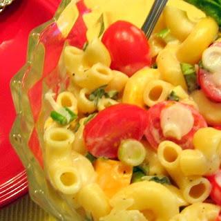 Kid Friendly Pasta Salad