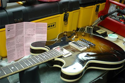 Brent's Big Ol' Blog — Project - replacing pickups in a Heritage H