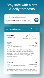 Weather & Severe Storm Alerts: The Weather Channel Screenshot
