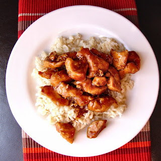Bourbon Chicken (without the bourbon).