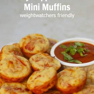 Pepperoni Pizza Mini Muffins Recipe