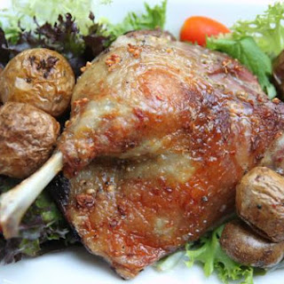 Slow-roasted Duck Legs