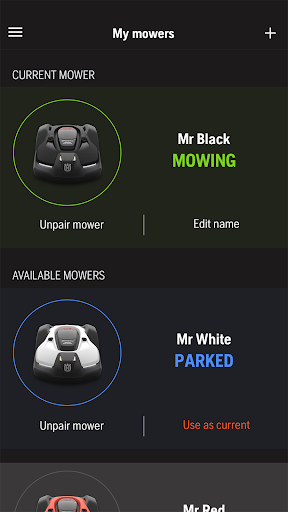 Automower Connect screenshot 5