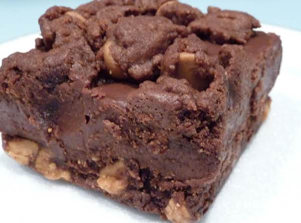 Cathys Chocolate Peanut Butter Ooeygooey-ness Bars Recipe
