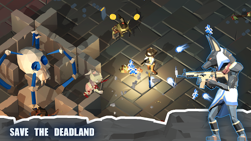 Zombie killer Deadland cowboy - screenshot