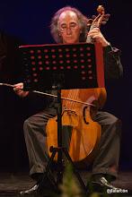 Photo: José Ignacio González, viola da gamba.
