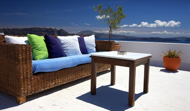 Patio, Furniture, Couch, Terrace, Outdoors