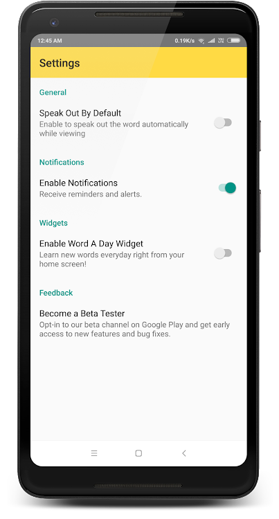 English Vocabulary Builder for GRE, TOEFL & IELTS – (Android