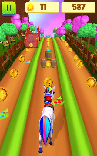 Unicorn Run - Runner Games 2020 filehippodl screenshot 22