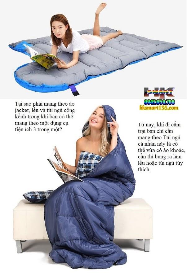 Túi ngủ du lịch cá nhân