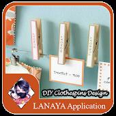 DIY Clothespins Design Ideas