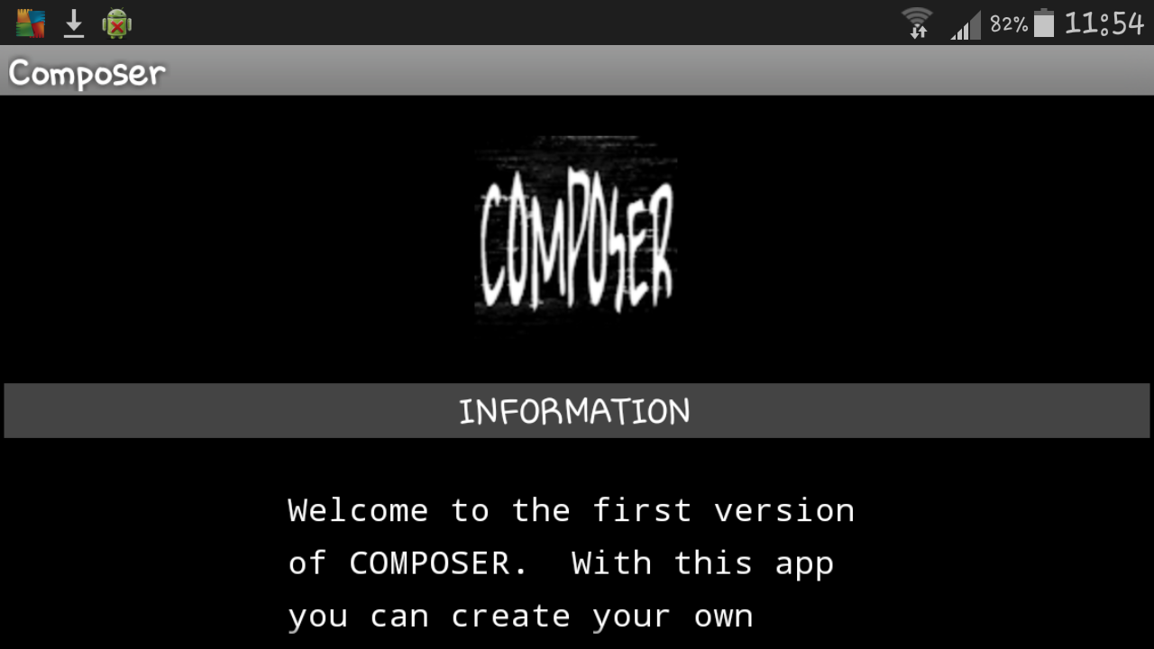 COMPOSER- screenshot