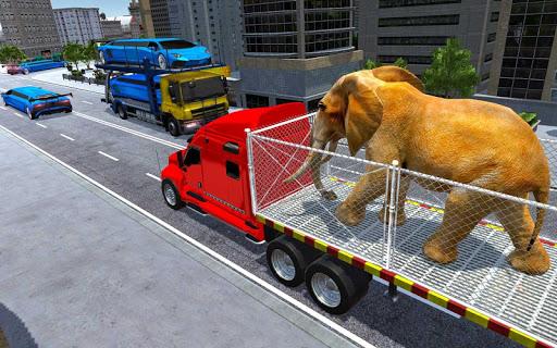 US Police Train Transporter Truck Robot Stunt Game 1.4 screenshots 10
