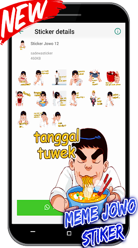 Meme Jawa Lucu Stiker For WAstickerApps screenshot 6