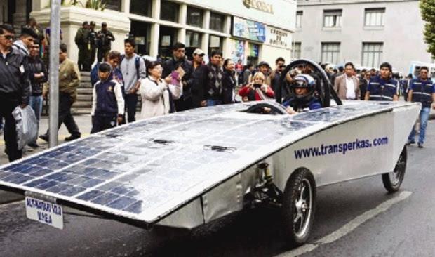 """Auto ALT-Katari """"made in UPEA"""", rumbo a la Carrera Solar de Chile"""