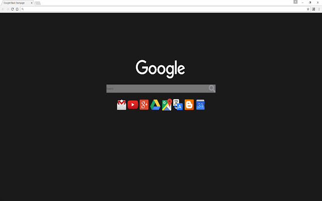 Google Black Startpage