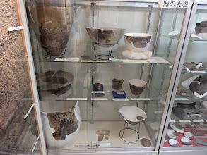 写真: 島大キャンパス出土の縄文土器