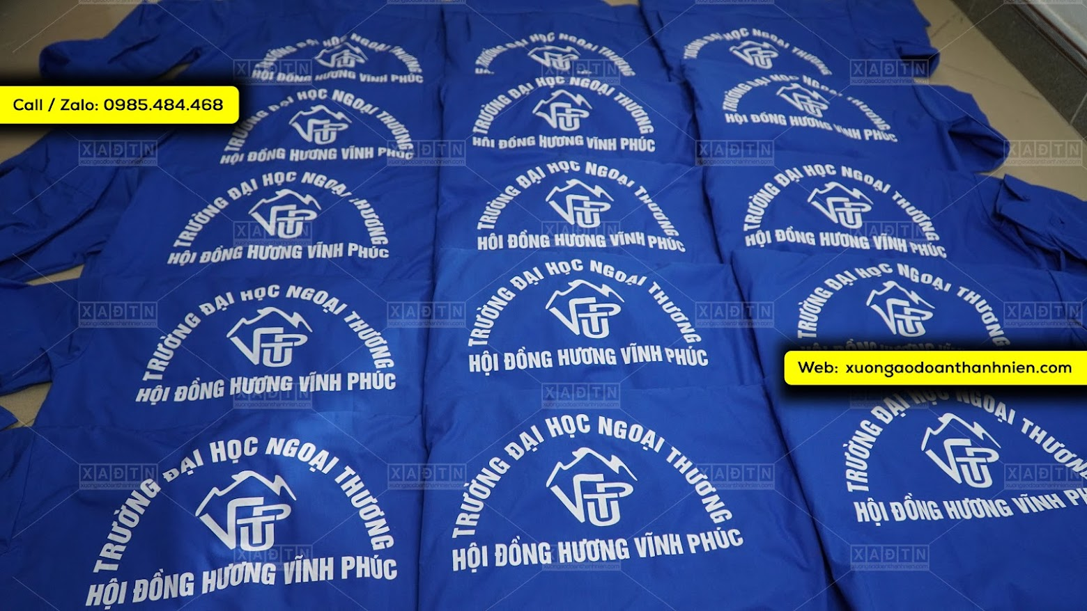 Đơn hàng Hội Đồng Hương Vĩnh Phúc