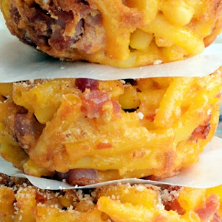 Ham and Macaroni & Cheese Muffins