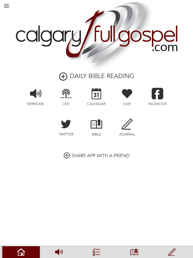 Calgary Full Gospel- screenshot