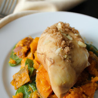 Slow Cooker Chicken and Sweet Potato Mash