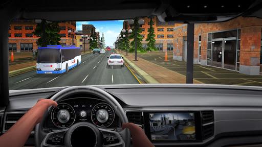 Driving in Traffic fond d'écran 1