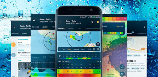 Windy app: wind forecast & marine weather - Apps on Google Play