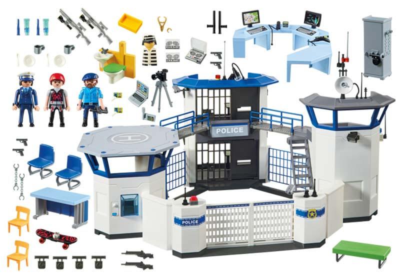 Contenido de Playmobil® 6919 Comisaría de Policía