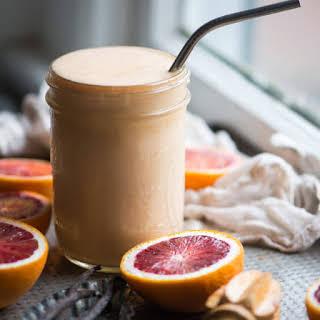 Healthy Orange Julius Smoothie.