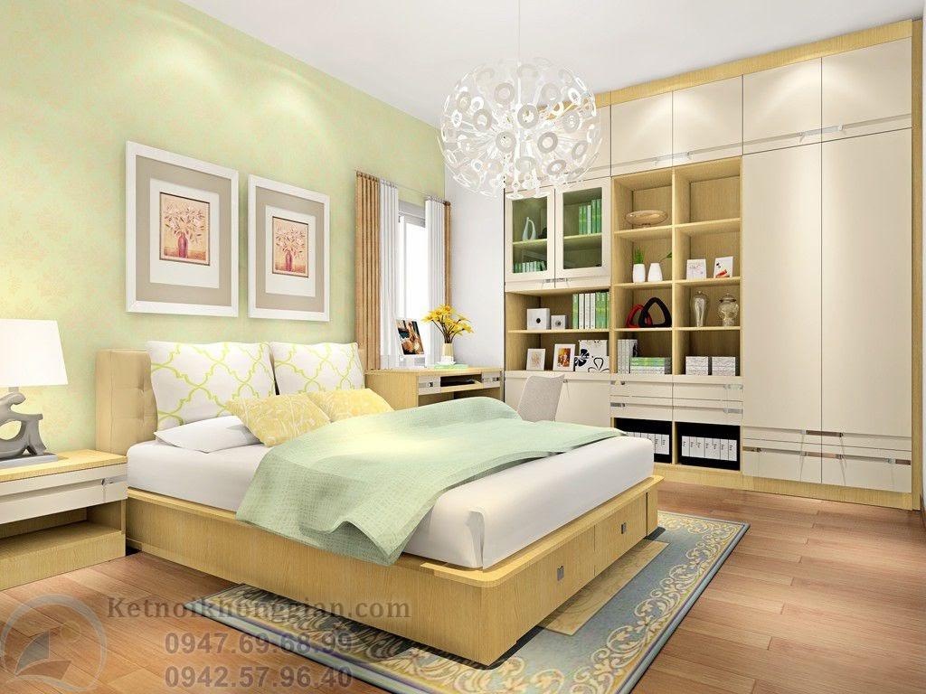 Thiết kế phòng ngủ 15m2 tinh tế