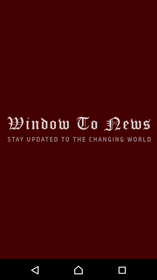 Window To News- screenshot