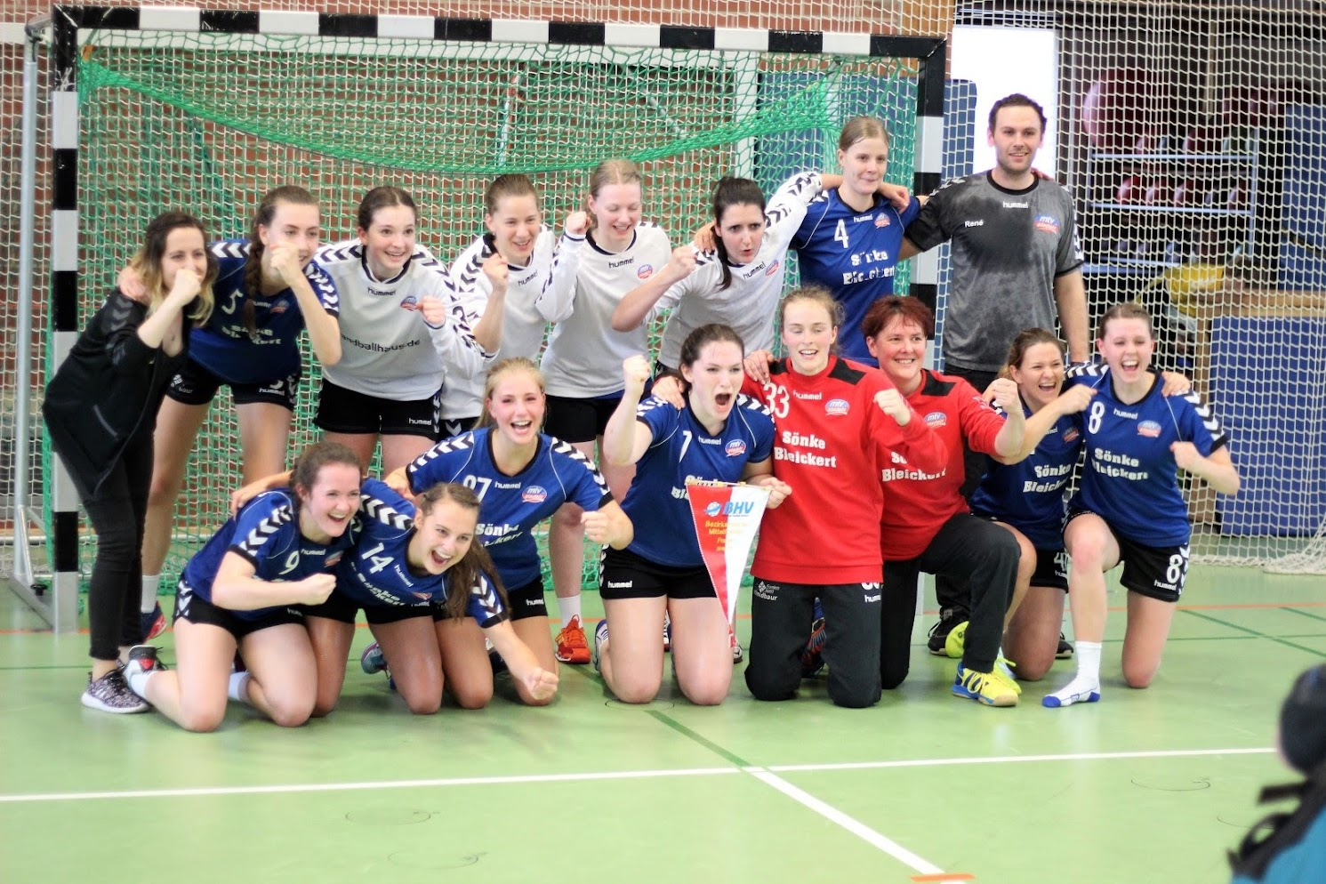 1.Frauen Landesligaaufstieg