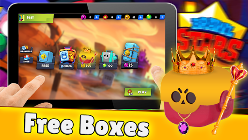 Royale box simulator for Brawl Stars 1.9.1 screenshots 1
