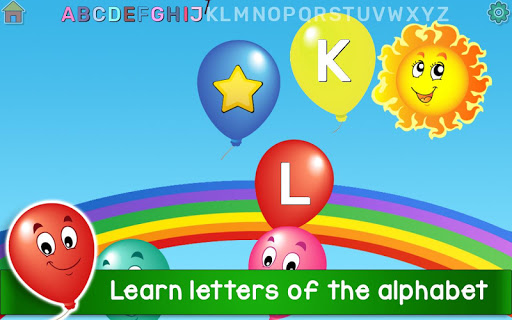 Kids Balloon Pop Game Free ud83cudf88 25.0 screenshots 2