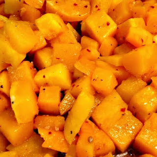 Sweet & Spicy Butternut Squash.