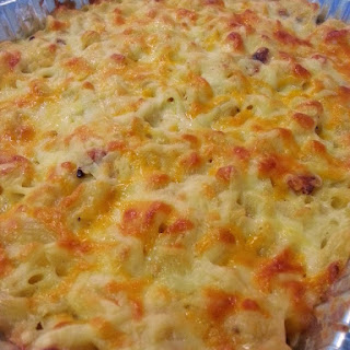 3 Cheese Loaded Mac & Cheese Casserole