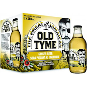 Old Tyme Ginger Beer 6-Pack