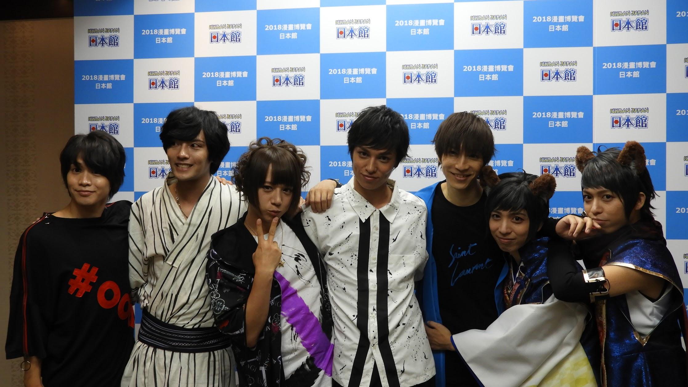 [迷迷動漫] 「月舞。」&「SQ舞台」成員初次合體登台嗨翻漫博日本館  粉絲熱情感動團員