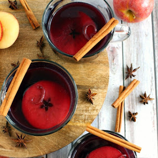 Hot Spiced Apple Cider Red Wine Recipes