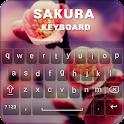 Sakura Theme Keyboard icon