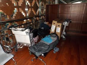 Photo: Ankunft in Denpasar: Guten Morgen nach einer Nacht auf dem Ngurah Rai International Airport