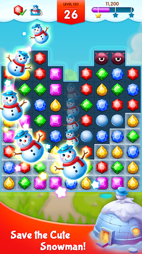 Jewels Legend - Match 3 Puzzle apkdebit screenshots 2