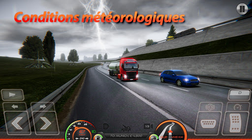 Simulateur de Camion : Europe 2 APK MOD screenshots hack proof 2