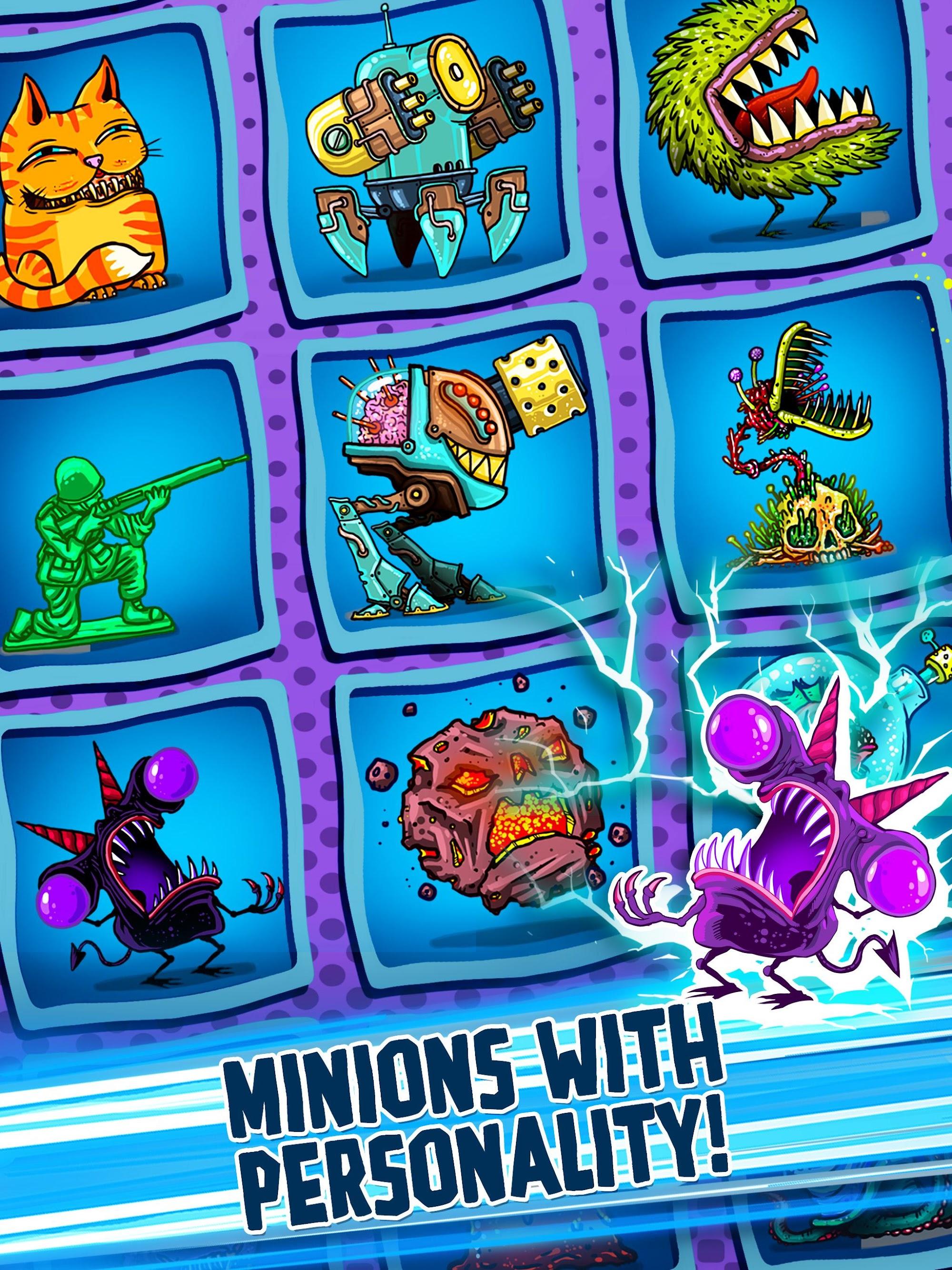 Tap Busters: Galaxy Heroes screenshot #10