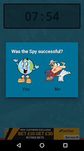 SpyTimer FREE for Spyfall- screenshot thumbnail