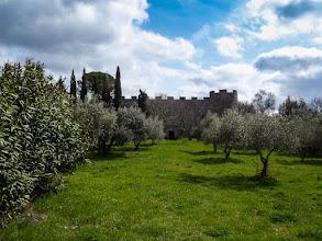 Photo: Castle in Saturnia (Frazione di Manciano). More at  http://blog.kait.us/2013/03/terme-di-saturnia.html