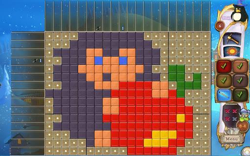 Screenshot for Fantasy Mosaics 32: Santa's Hut in United States Play Store