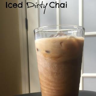 Iced Dirty Chai.